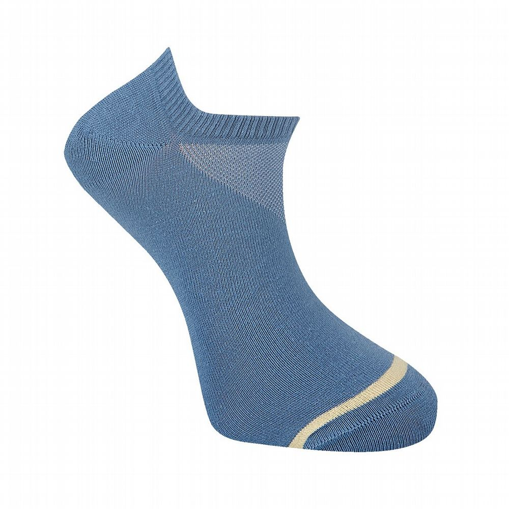 Men's Cotton Socks  - Sun Sock -  Blue